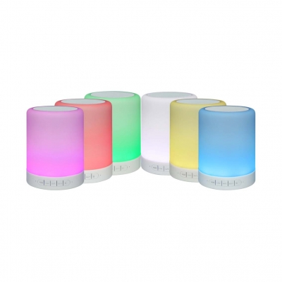 C-320 LED night light Bluetooth Speaker