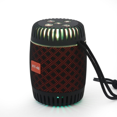 HY-48 Bluetooth Speaker with LED flash light
