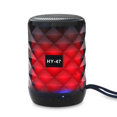 HY-47 Bluetooth Speaker with LED flash light